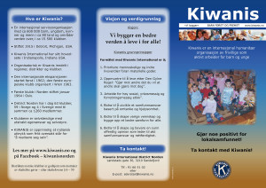 kiwanis info brosjyre side 1